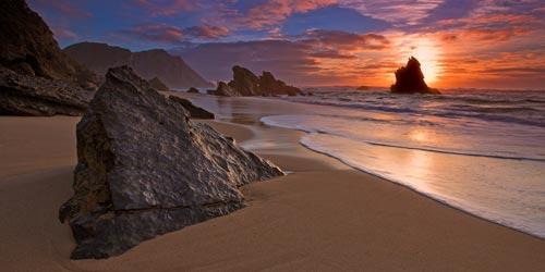 cheap sunset canvas print