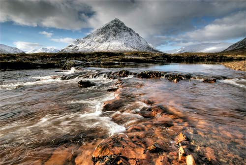 Glen Coe poster print and canvas picture