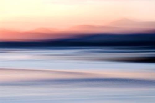 Sunset Harris abstract art