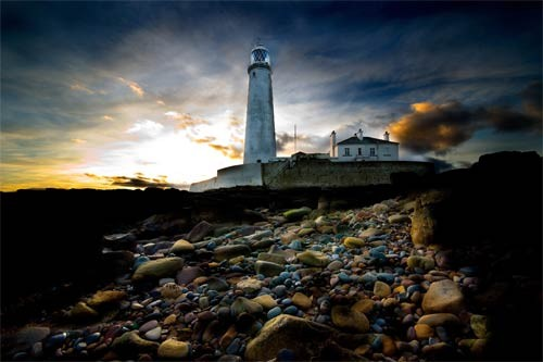 St Mary's Lighthouse Tim Wallace