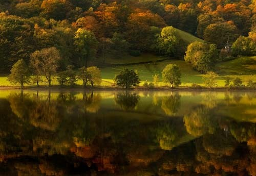 Autumn in Grasmere poster print for walls