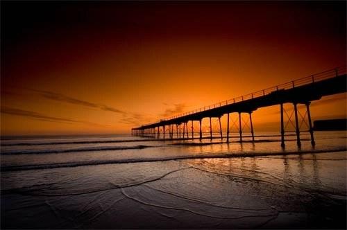 Dawn Sky of Fire