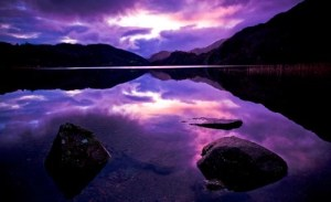 Sunset in Snowdonia