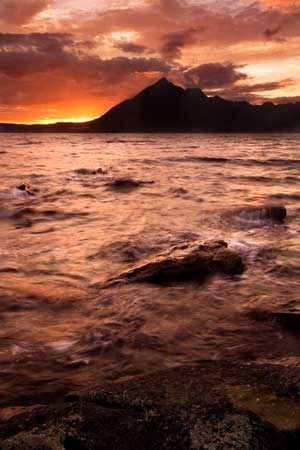 Sunset Over Elgol