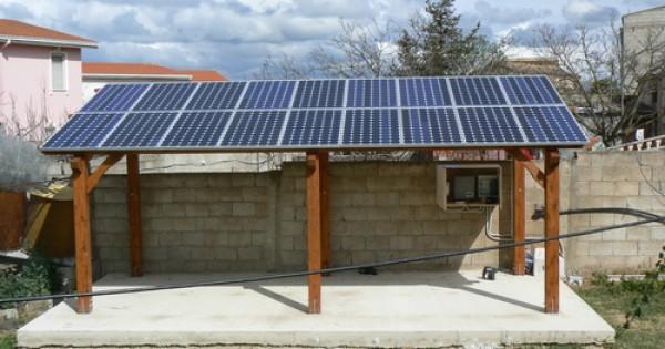 Cos la pergola fotovoltaica
