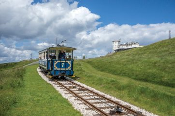Great Orme Tram. Sony RX100 at 35mm eq,. 1/2000 sec @ f/8, ISO 400. © Simon Kitchin
