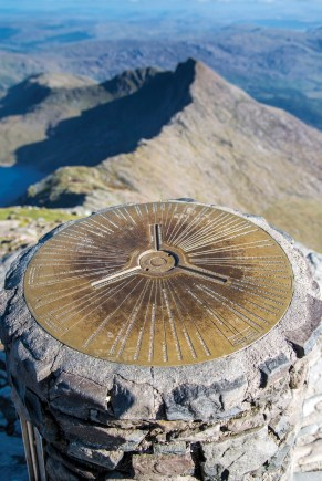 On top of Wales, the summit trig point at 1085 metres. Nikon D800, 16-35 at 24mm, 1/1000 sec @ f/4, ISO 200. © Simon Kitchin
