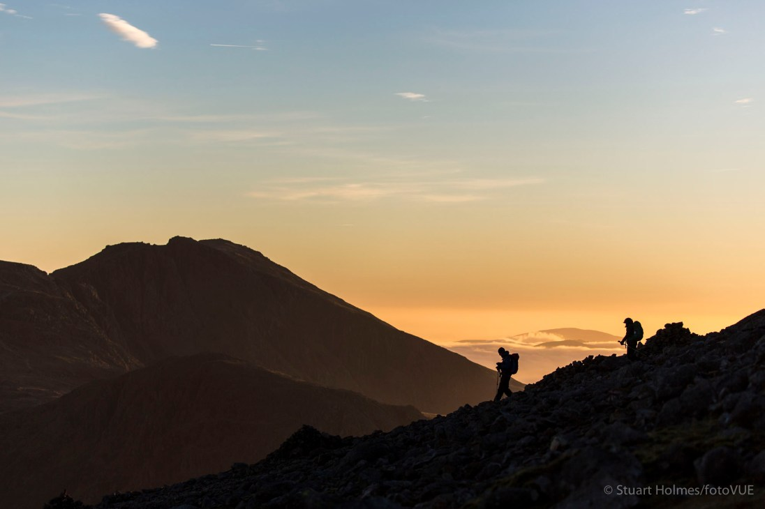 ScaFell from the slopes of Great Gable. Canon 5D Mk III, 100-400mm at 100mm, ISO 100, 1/800s at f/4.5. © Stuart Holmes.