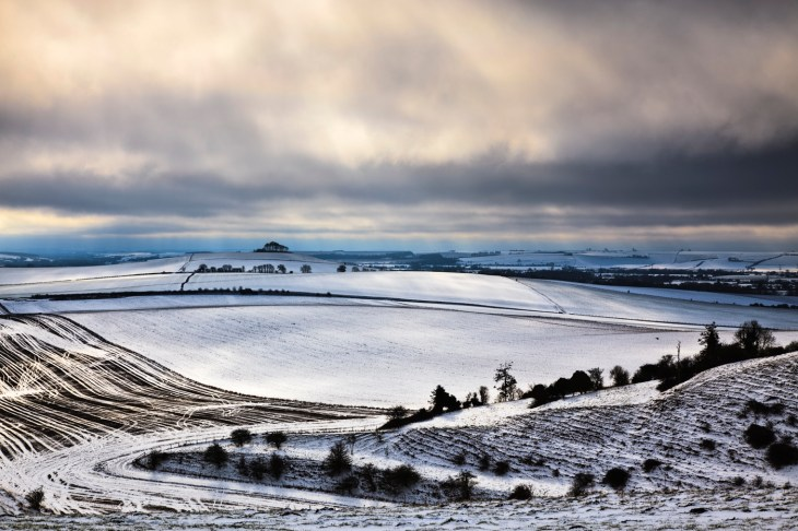 Pewsey Downs, Wilshire. Canon 5DII, Canon 24-105mm f/4L at 105mm, ISO 100, 1/80 sec at f/16, Tripod, LEE 0.6 hard grad, © Mark Bauer