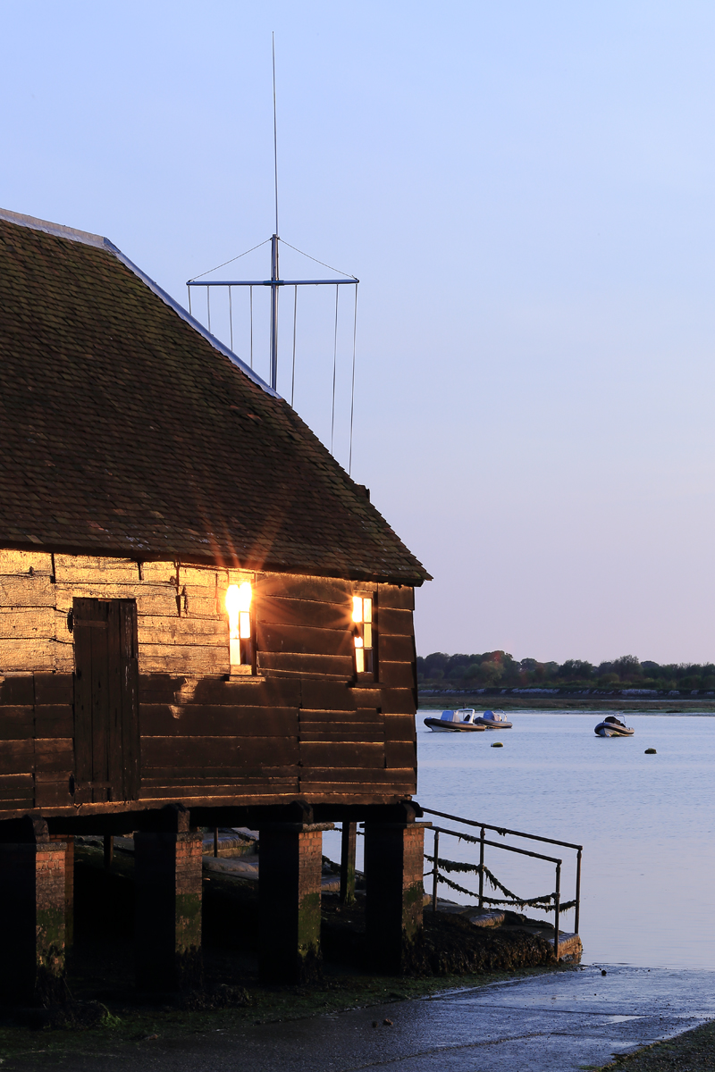 Bosham Harbour. Canon 6D, Canon EF 24-105mm f/4 at 106mm, ISO 160, 1/10s at f/14. April. © Beata Moore