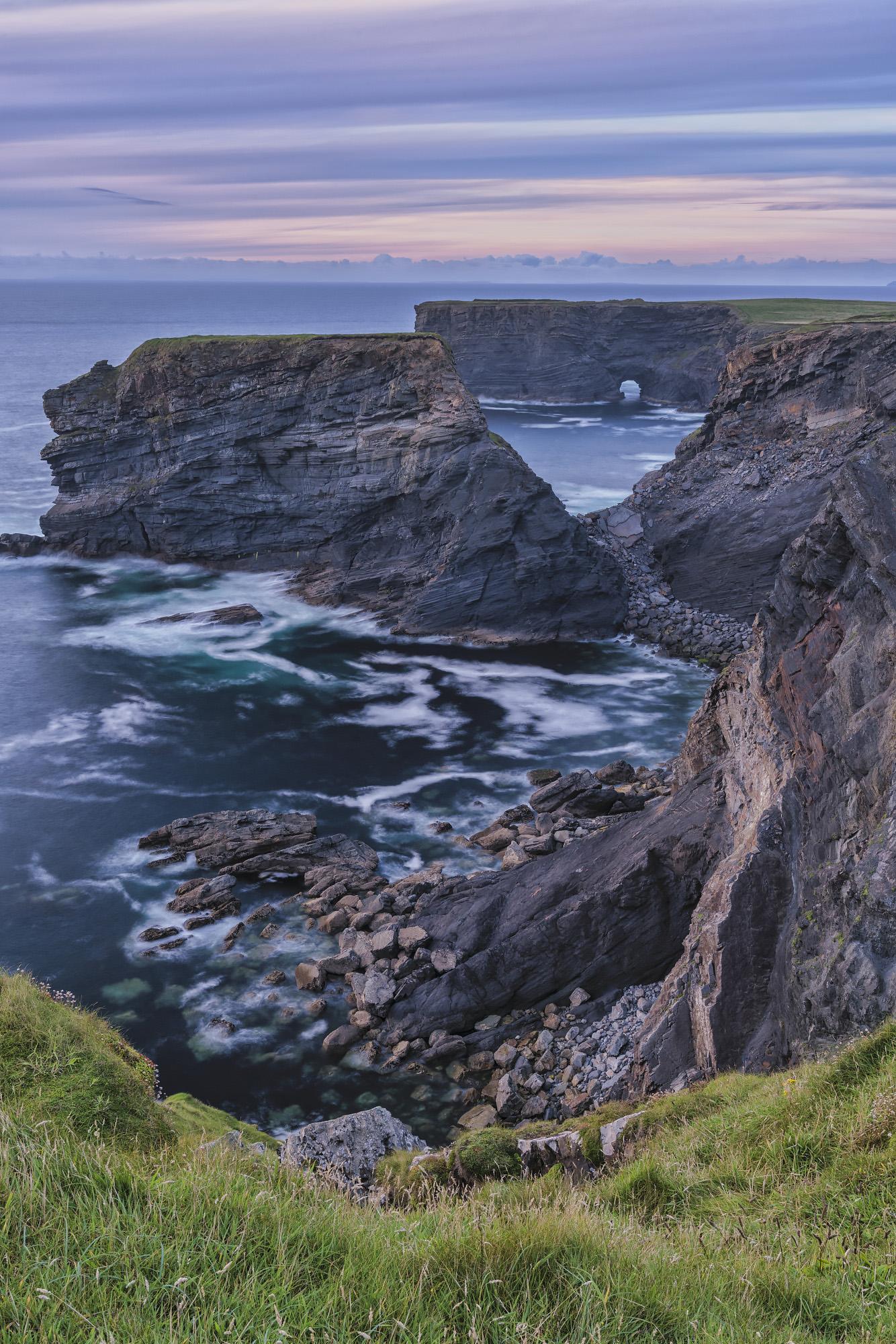 Illaunadoon, Loop Head, Co. Clare, Ireland. Sony A7R II, Sony 24-70 f/2.8 GM at 35mm, ISO 50, 13s at f/16. Tripod. August. © Carsten Krieger