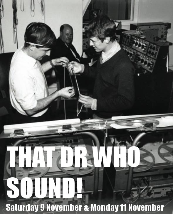 Promo flyer for That Dr Who Sound radio documentary