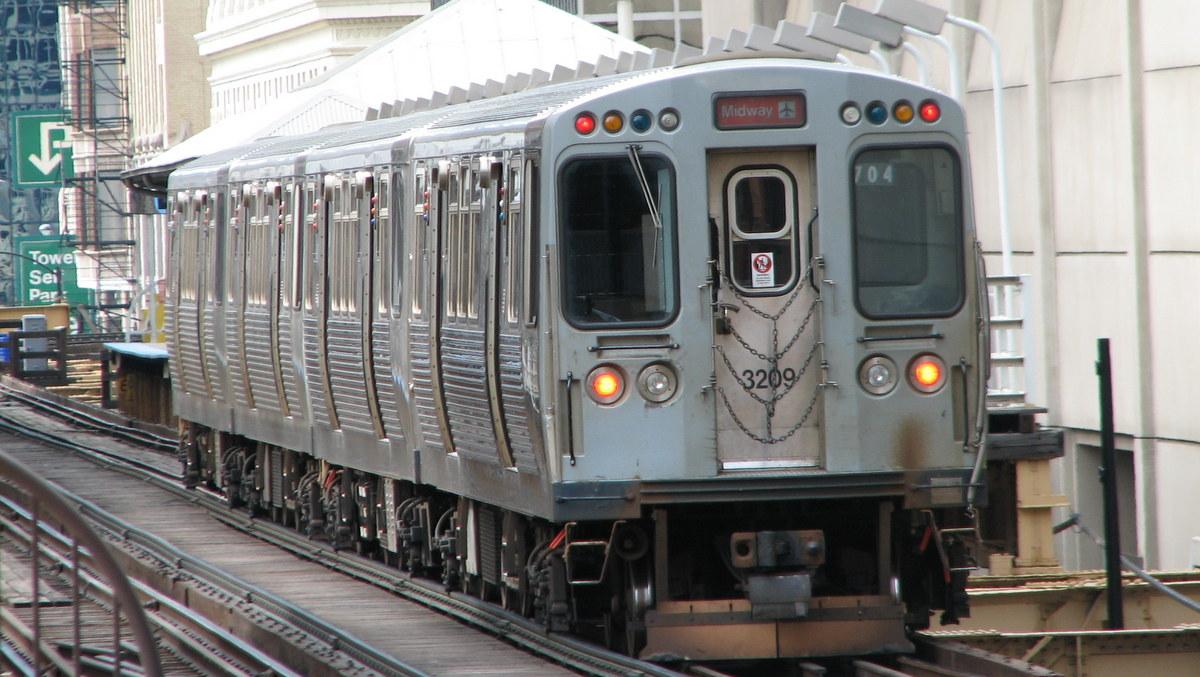 "Photo of Chicago ""El"" train"