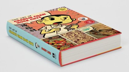 Photograph of the graphic novel Art of Charlie Chan Hock Chye by Sonny Liew