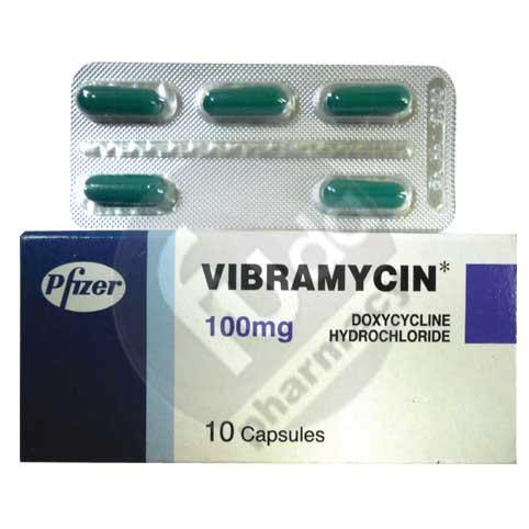 Vibramycin 100 Mg 10 CAPSULE 2 STRIPS | Fouda Pharmacy