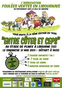 """Trail """"Entre Côtes et Ceps"""" du 31 mai 2015"""