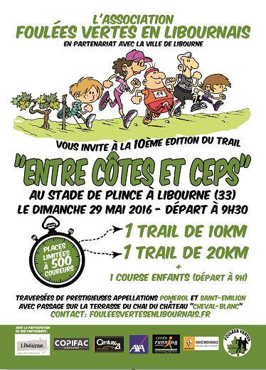 Flyer Entre Côtes et Ceps 2016