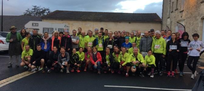 La Dyonisienne du 21 et le Trail de Fronsac du 22 Octobre 2017
