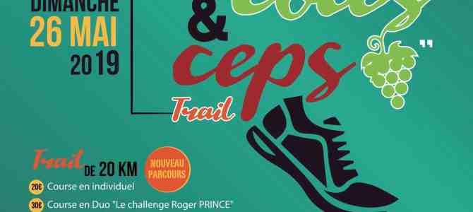 """Trail """"Entre Côtes et Ceps"""" du dimanche 26 mai 2019 – 13ème édition"""