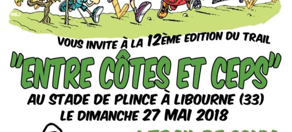 """Trail """"Entre Côtes et Ceps"""" du 27 mai 2018"""