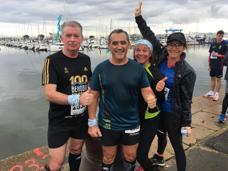 Les 10 kms d'Arcachon le 01/12/2019 – Quelques courageux!