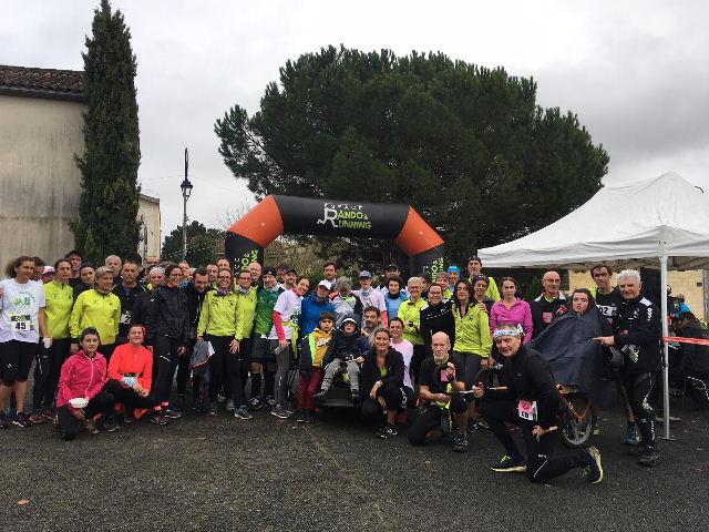 Le Téléthon Saint Sulpice de Faleyrens : 74 membres participants avec engagement offert par les FVL