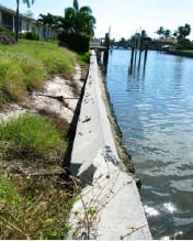 Seawall Erosion Repair Florida