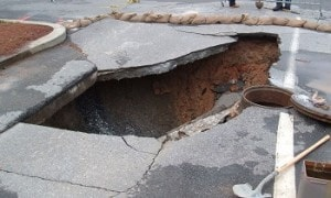 Sinkhole Areas in Florida