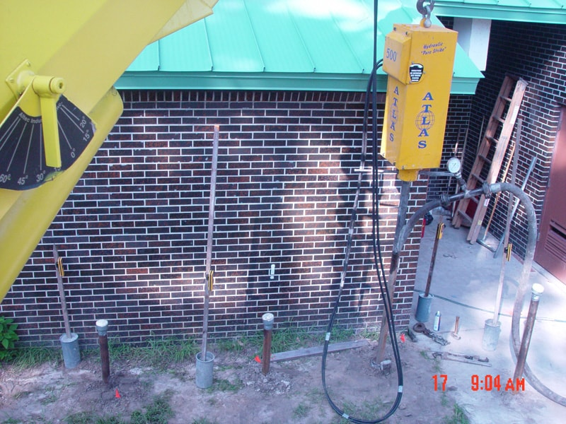 Commercial foundation repair in Florida by Foundation Professionals of Florida