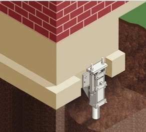 Steel piers are a underpinning method for Florida's residents