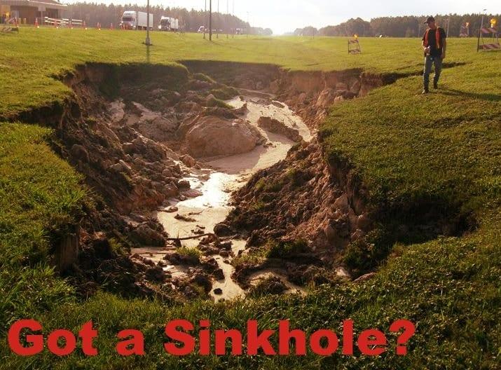 Sinkhole Problems FL