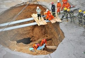 Sinkhole Hazards
