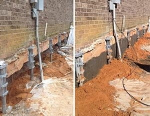 underpinning and flowable fill pensacola, fl