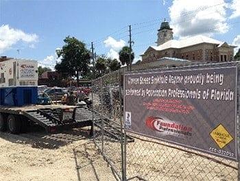 Warren Street Sinkhole Repair in Live Oak FL
