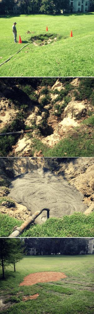 sinkhole remediation process