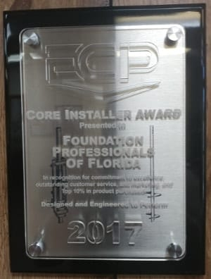 ECP Core Installers Award