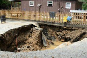 foundation sinkhole Ocala, Florida