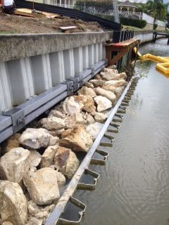 seawall installation and repair