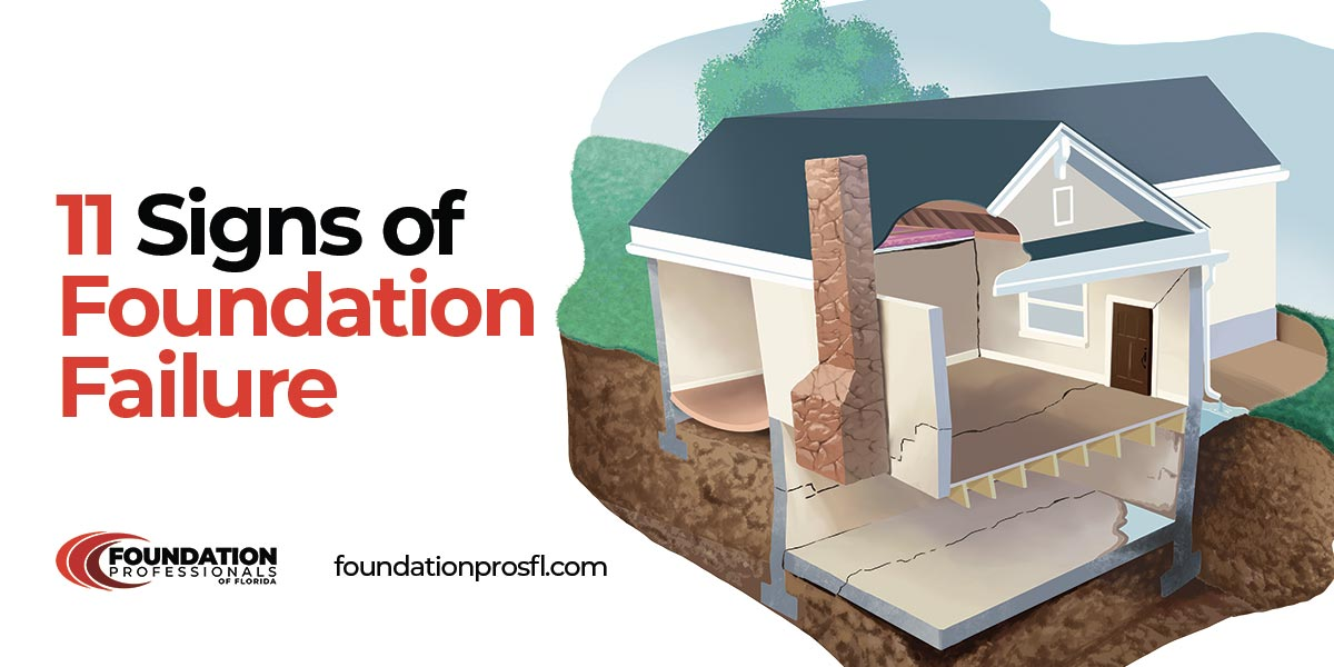 11 signs of foundation failure