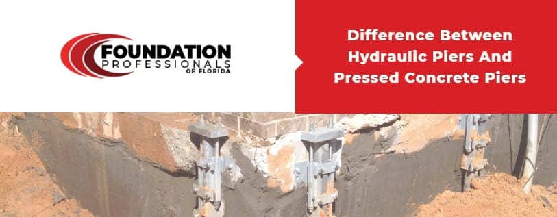 Difference Between Hydraulic Piers and Pressed Concrete Piers