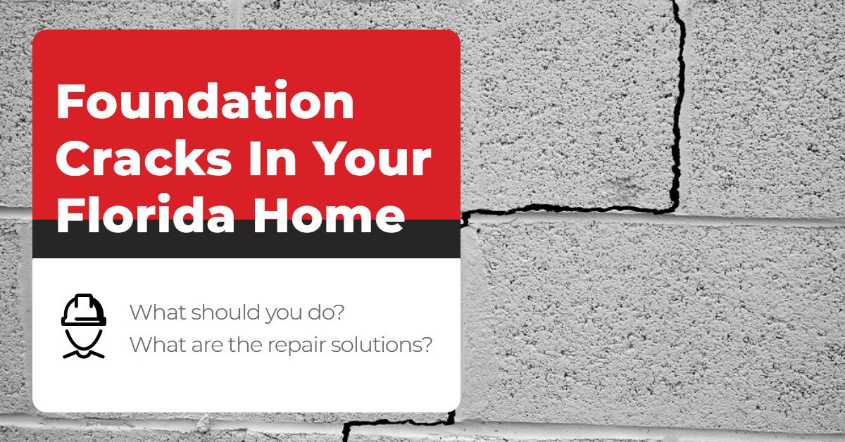 Foundation Cracks In Your Florida Home