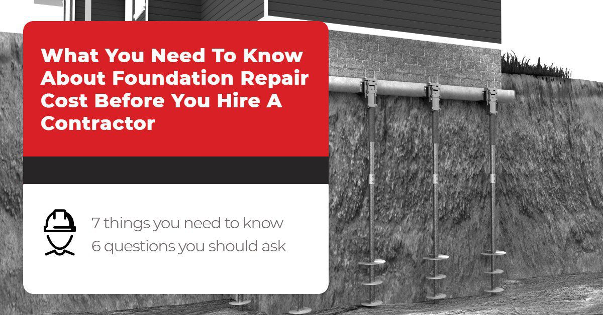 What You Need To Know About Foundation Repair Cost Before You Hire A Contractor