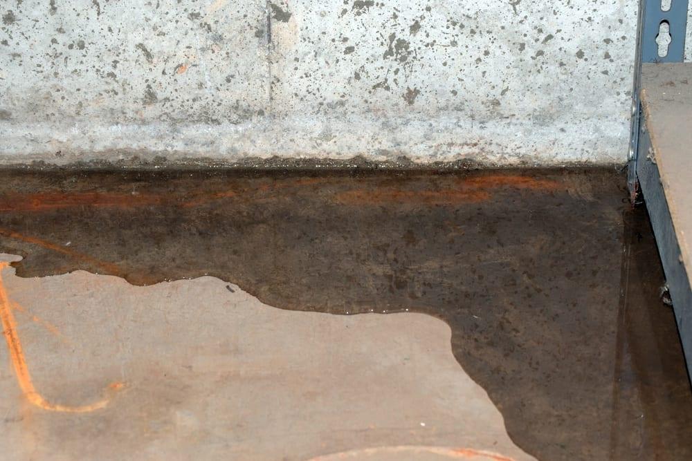 water seepage into basement