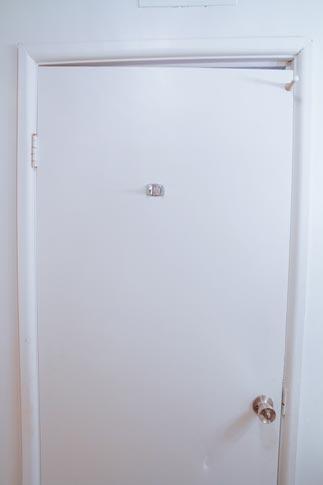 Uneven Interior Door