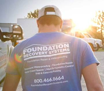Foundation Recovery Systems Home Page Hero Sunburst