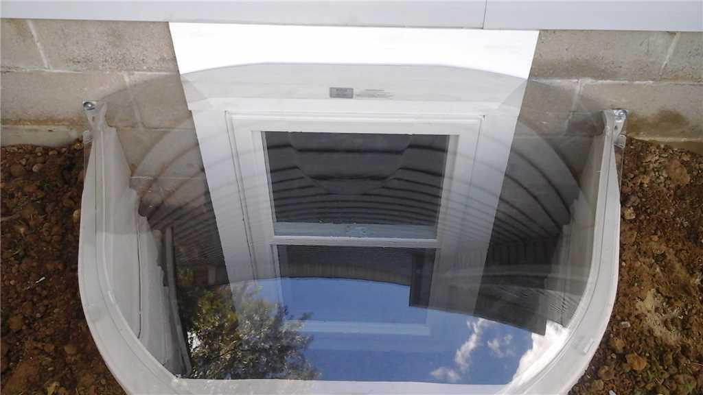 egress window system installation