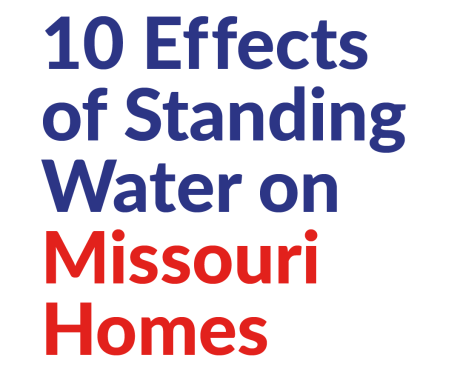 10 Effects of Standing Water on Missouri Homes
