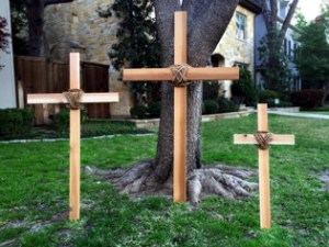 Key's crosses, hand built and a reminder of what Christ did on the cross. (Credit: Key's Crosses)