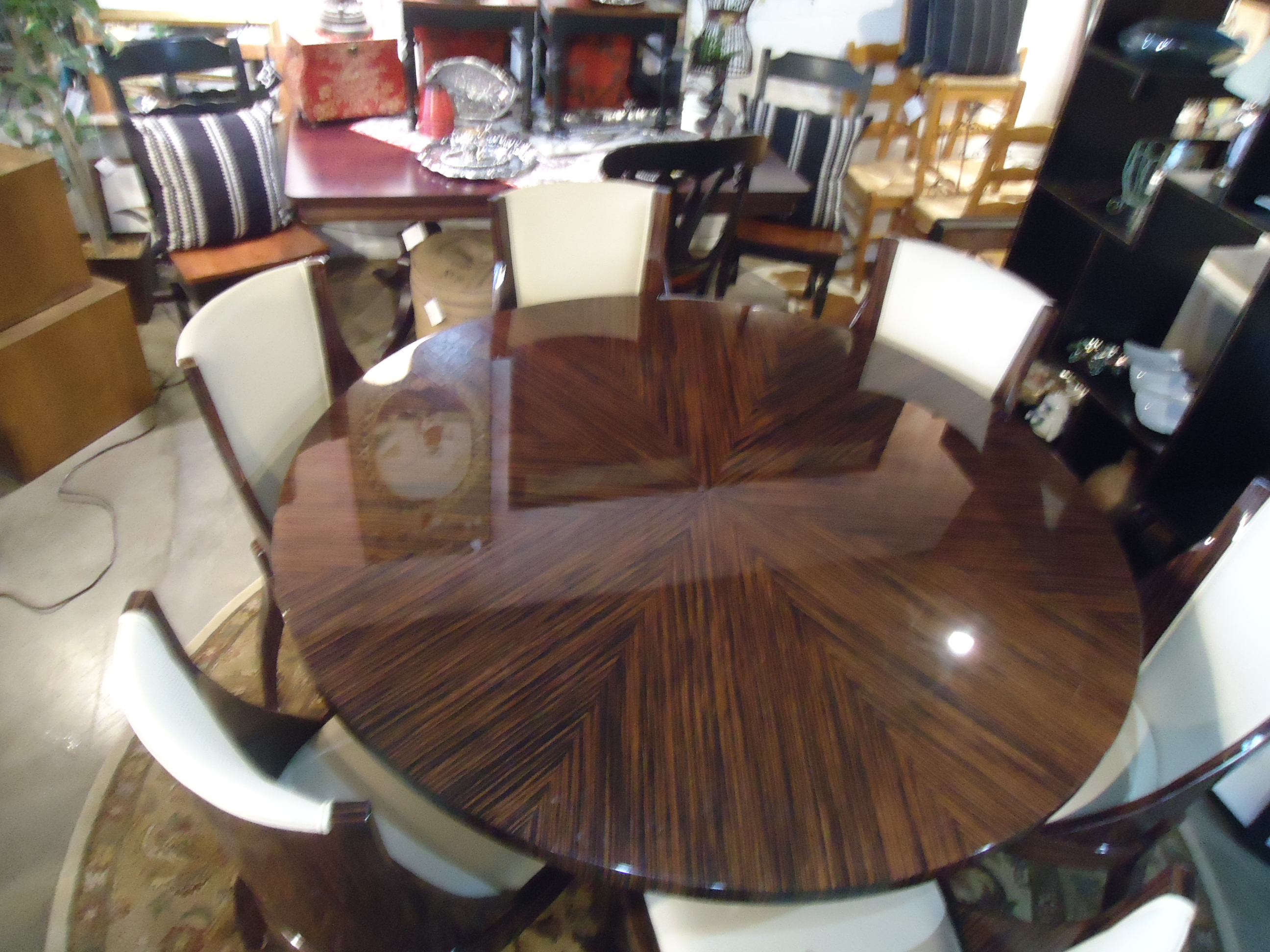 glass kitchen table set modern clocks for dining room & at found interiors kirkland wa