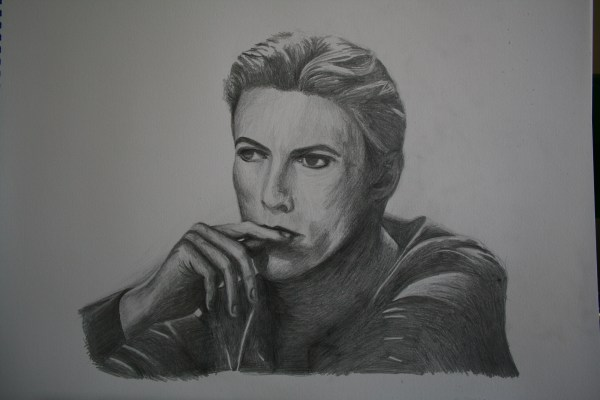 Pencil Drawings David Bowie